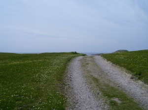 A little road to walk on whilst on a pilgrimage