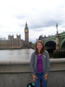 It wouldn't really be a trip to London without a photo in front of Big Ben