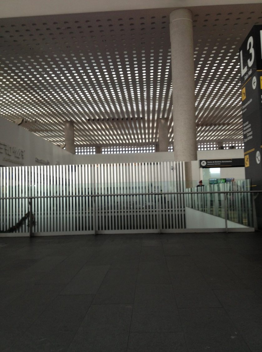 Inside the Mexico City Airport