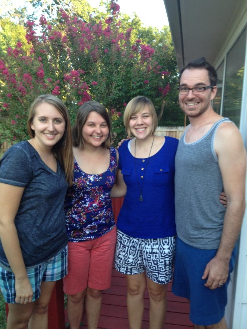 Emily, Me, Natasha, and Levi