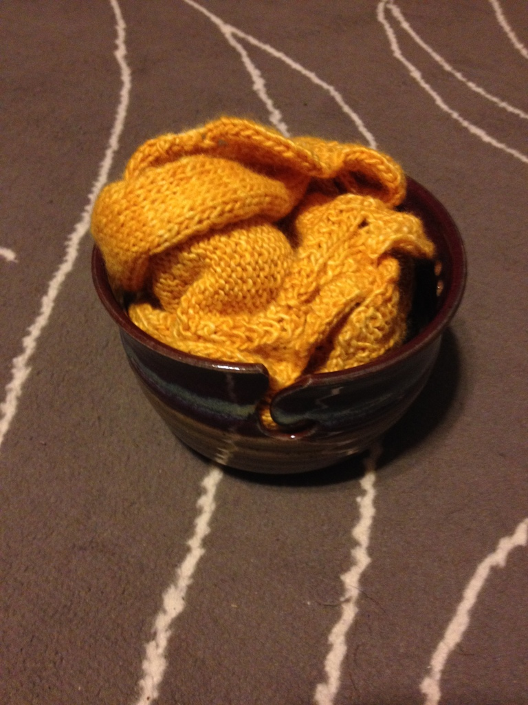 You mean everyone doesn't have a yarn bowl?